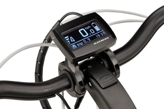 Noorderlicht fietsverhuur – Batavus Monaco – display