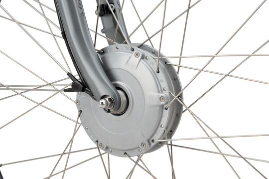Noorderlicht fietsverhuur – Batavus Monaco – voorwiel