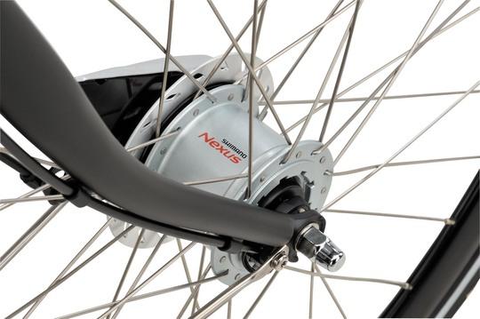 Noorderlicht fietsverhuur – Batavus Winner – voorwiel
