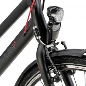 hybride fiets, fiets met versnellingen, Batavus Boulevard, voorlicht