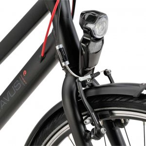 Noorderlicht fietsverhuur – Batavus Boulevard – 24v – dames – koplamp