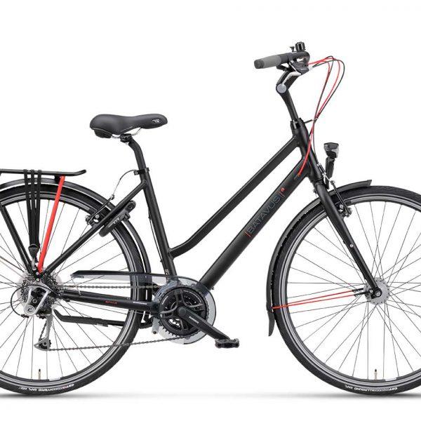 Noorderlicht fietsverhuur – Batavus Boulevard – 24v – dames – zijaanzicht