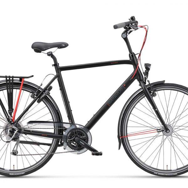 Noorderlicht fietsverhuur – Batavus Boulevard – 24v – heren – zijaanzicht