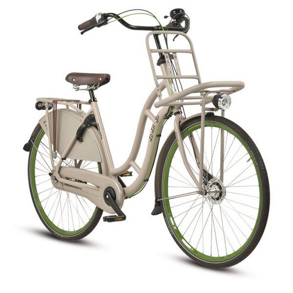 Noorderlicht fietsverhuur – Sparta – Lola – Beige – voorzijde