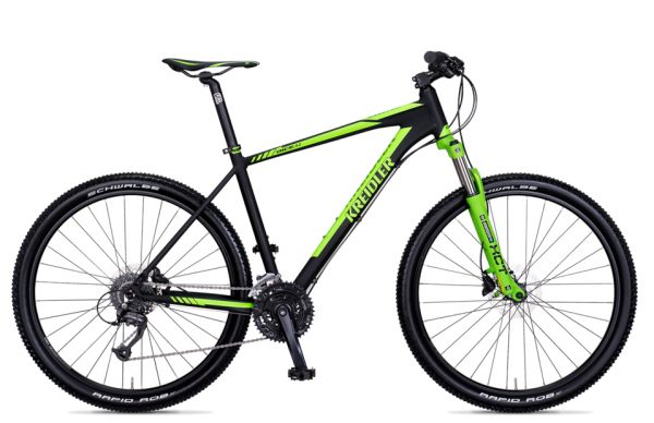 Noorderlicht fietsverhuur – Kreidler Dice – groen met zwart