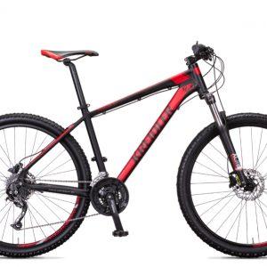 Noorderlicht fietsverhuur – Kreidler Dice – rood met zwart