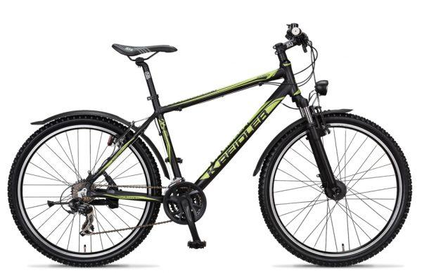 Noorderlicht fietsverhuur – Kreidler Mustang – groen met zwart