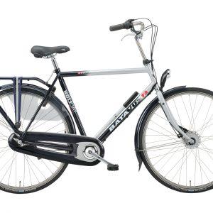 Fiets met versnellingen, Batavus Holiday, fiets met drie versnellingen, heren model
