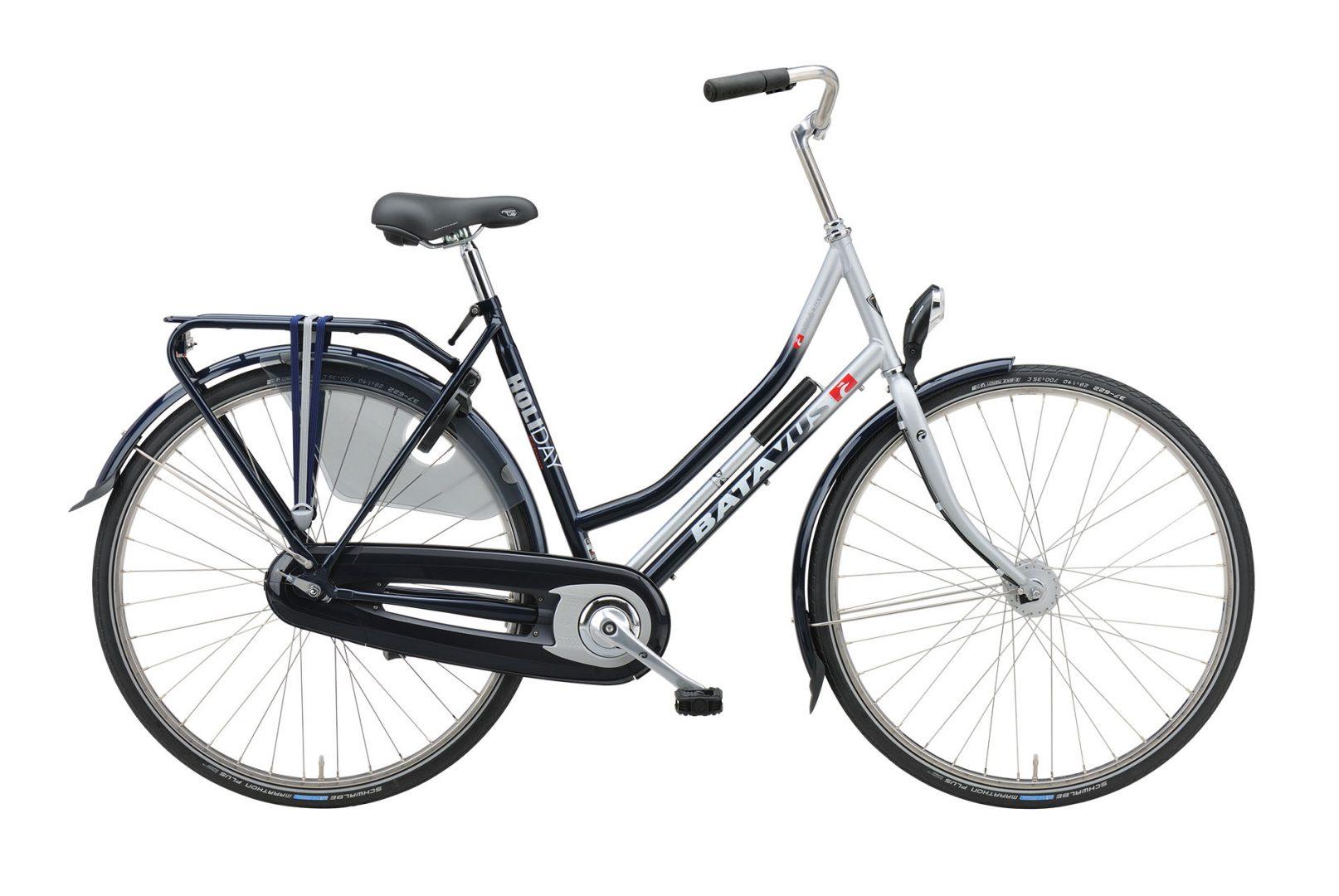Fiets zonder versnellingen, Batavus Holiday, degelijke fiets, dames model