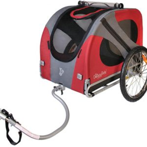 Noorderlicht fietsverhuur – Hondenkar rood
