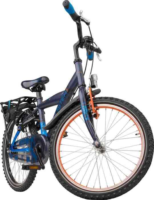 Noorderlicht fietsverhuur – Loekie Booster – 20 inch – voorkant