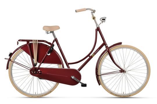 Noorderlicht fietsverhuur – Batavus Old Dutch – rood
