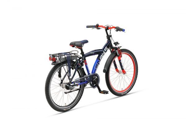 Noorderlicht fietsverhuur – Batavus Snake – 24 inch – achterzijde