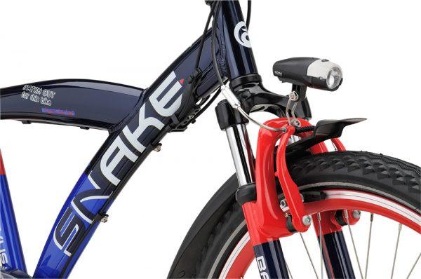 Noorderlicht fietsverhuur – Batavus Snake – 24 inch – voorvork