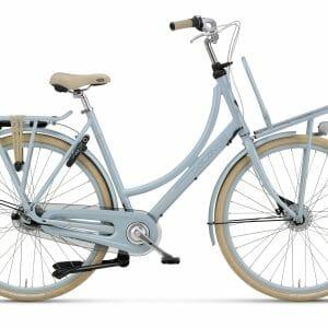 Noorderlicht fietsverhuur – Batavus Diva – 24 inch – wit