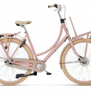 Kinderfiets met versnellingen, Batavus Diva in de kleur roze