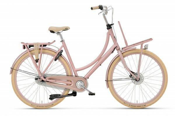 Noorderlicht fietsverhuur – Batavus Diva – 26 inch – roze