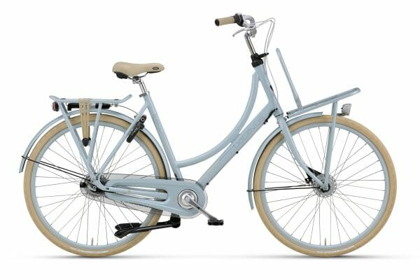 Noorderlicht fietsverhuur – Batavus Diva – 26 inch – wit