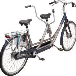 Noorderlicht fietsverhuur – Sparta tandem – achterkant