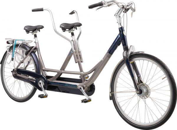 Noorderlicht fietsverhuur – Sparta tandem – voorzijde