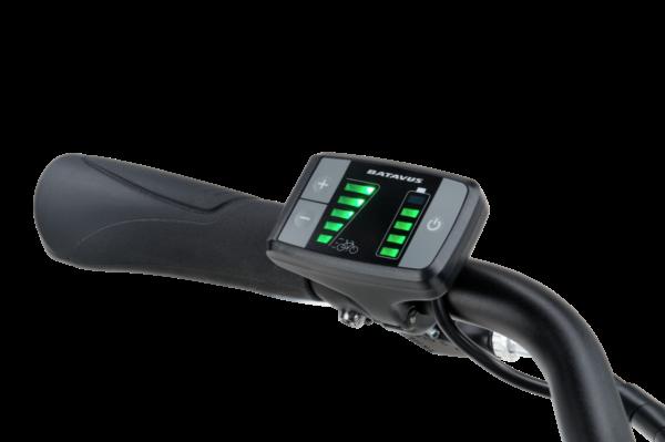 Noorderlicht fietsverhuur – Batavus Fonk E-go – bediening